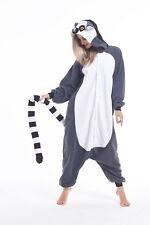 Adult Animal Cosplay Costume Pajamas Ring-tailed lemur Kigurumi Onsie0 Sleepwear