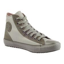 CONVERSE Schuhe Chucks CT All Star Hi 125601C Boot Leder Mid Grau Phaeton Grey