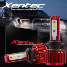 XENTEC 80W CREE H13 9008 Hi/Lo beams LED headlight Kit 8000LM 6000K bulbs Pair