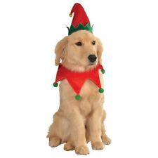 Elf Hat & Collar Pet Costume Pet Christmas Fancy Dress