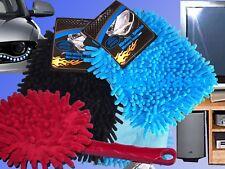 Mikrofaser Plüsch Handschuh Waschhandschuh Handschuh Reinigungsbürste ZJP