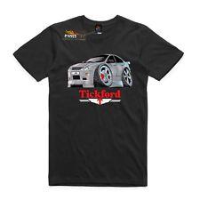 T-shirt Ford AU Falcon XR8, muscle cars. AS Colour car T-shirt. Tickford 5.0