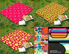Picknickdecke Campingdecke Strandmatte pink Isomatte wasserdicht XL Decke Typ527