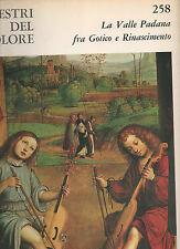 la valle padana fra gotico e rinascimen- i maestri del colore - Fabbri editore -