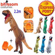 K344A Inflatable Dinosaur Costume Adult Jurassic World Park Trex T-Rex T rex