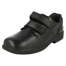 Niños Clarks Elegante Zapatos de colegio 'Deaton Puerta'