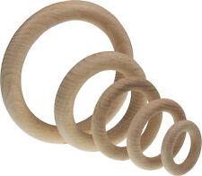 Holzringe Holzring Buchenholz Ring massiv Ø 35 40 46 56 70 85 100 oder 115 mm