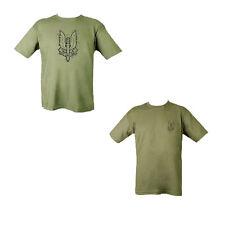 New MENS MILITARY Outdoor SAS  100% Cotton Green T-shirt Tshirt