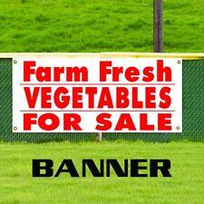 Farm Fresh Vegetables For Sale Food Fair Advertising Vinyl Banner Business Sign