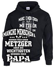 PAPA METZGER Spruch lustig Sohn Tochter Vater SWEATSHIRT Schlachter Fleischer