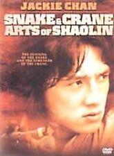 SNAKE & CRANE ARTS OF SHAOLIN JACKIE CHAN DVD