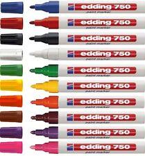 EDDING 750 MARCATORE VERNICE PAINT MARKER 4 colori