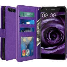 Housse Huawei P10 Plus Etui luxe Portefeuille Porte Carte & Billet cuir PU