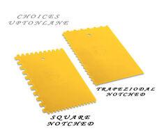 Dekor in plastica quadrato o trapezoidale dentellata Piastrella Adesivo Spatola