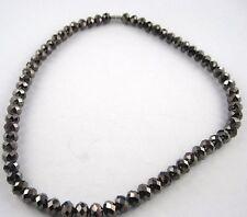 Perle in vetro collana o COLLIER IN DIVERSE FORME E COLORI halsnah - Lungo