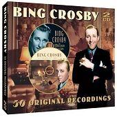 BING CROSBY 50 Original Recordings DOUBLE CD ALBUM