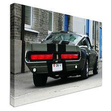 Mustang Shelby 1967 impresión de arte de la pared de la lona Eleanor trasero grande + Cualquier Tamaño