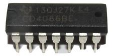 CD4066B CD4066BE CD4066 CMOS Quad Bilateral Switch DIP14 US Seller