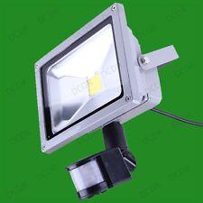 20W High Power LED Outdoor Security PIR Sensor Flood Light IP65 Lamp 2700K/6500K