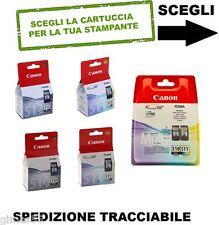 CARTUCCE ORIGINALI CANON PG-510 PG-512 CL-511 CL-513