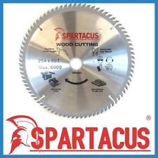 Spartacus Wood Cutting Saw Blade 254 mm x 80 Teeth x 30mm Fits Various Models