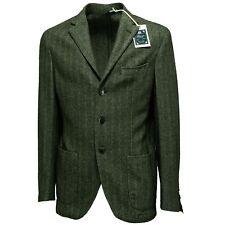 7375L giacca uomo verde BRANDO giacche jackets coats men