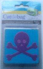 Cuttlebug Cut & Emboss Die  BEWARE CROSSBONES  37-1821 fits Sizzix Big Shot