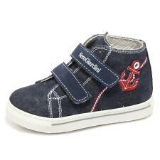 B1856 sneaker bimbo NERO GIARDINI DENIM blu shoe kid