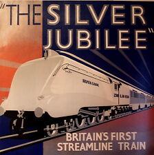 The Silver Jubilee Vintage Art Déco AFFICHES DE CHEMIN DE FER A1, A2, A3,