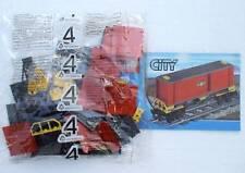 LEGO® Eisenbahn Waggon mit roten Container aus 7939 - NEU