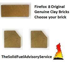 Firefox 8 Genuine Original Clay Firebricks Brick Side Rear Back Fire Fox