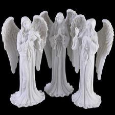Guardian Angel Figurines ~ Pastel Painted Statues ~ Candle Memorials ~ Cherubs