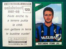CALCIATORI 1987-88 87-1988 n 120 INTER FERRI - Figurina Sticker Panini (NEW)