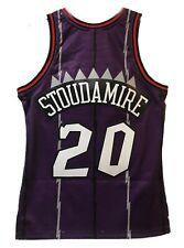 Men's Toronto Raptors Damon Stoudamire Mitchell & Ness Purple 1995-96 NBA Jersey
