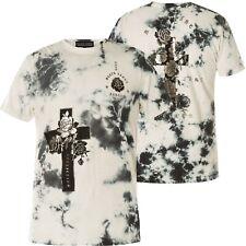 AFFLICTION T-Shirt Cross Of Souls Weiß/Grau T-Shirts