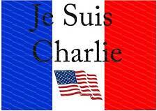 Je suis CHARLIE.. montrez votre soutien américain de solidarité avec le poster Français