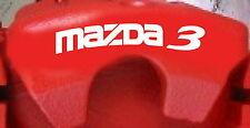 Mazda 3 Curved Brake Caliper Decals (8)