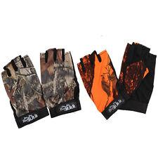 Waterproof Anti-slip Gloves 5 Cut Fingers For Fishing Hunting Shooting 1 Pair