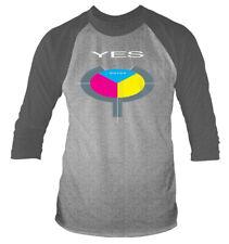 Yes '90125' 3/4 Length Sleeve Raglan Baseball Shirt - NEW & OFFICIAL!