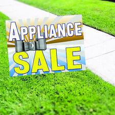 Appliance Sale Fridge Microwave Kitchen Advertising Coroplast Yard Sign