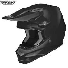 Fly Racing F2 Carbono Motocross MX Enduro Motor Bicicleta casco sólido-NEGRO -! oferta!