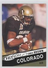 2003 SAGE Hit #23 Chris Brown Tennessee Titans Colorado Buffaloes Football Card