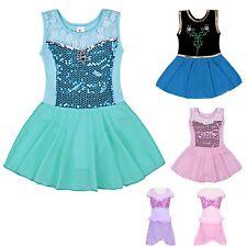 Vestito Tutù Saggio Danza Ariel Elsa Anna Aurora Ballet Girl Tutu Dress DANC112
