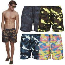 Urban Classics Camo Swimshorts  Allover Camouflage Badehose Swim Short Badeshort
