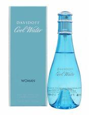 DAVIDOFF COOL WATER WOMAN EAU DE TOILETTE 100ML SPRAY FÜR SIE. NEU