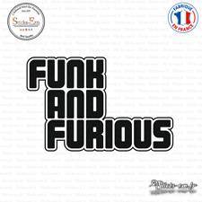 Sticker JDM Funk and Furious Decal Aufkleber Pegatinas D-033 Couleurs au choix