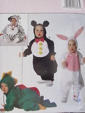 3050 Uncut Vintage Butterick Sewing Pattern Childs Bear Rabbit Dog Dino Costume