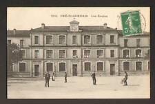 PRE-SAINT-GERVAIS (93) LES ECOLES animé 1910