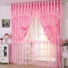 Curtains Tulle Korean Romantic Princess Lace Sheer Curtain Panel E260