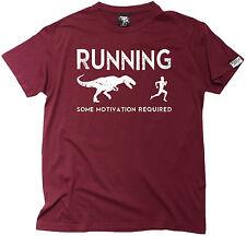 Running Some Motivation Required MENS T-SHIRT birthday funny fashion running